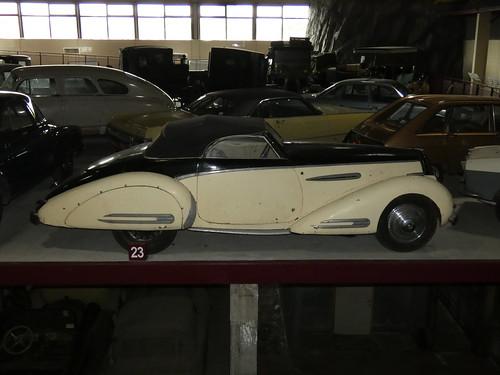 Delahaye 135 M Cabriolet Vandenplas 1948
