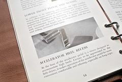 1961 Cadillac Data Book 17 - Accelerator Pedal