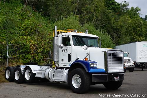 HWY Heavy Haul Freightliner SD Daycab, Truck# 703