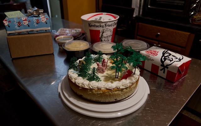 Fake Birthday #4: Ice Cream Bunny cake