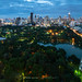 Lumphini Park and the Cityscape of Bangkok