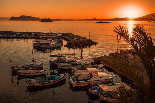 Aegean sunset.....