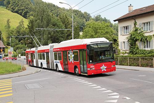 Verkehrsbetriebe Luzern Nr. 233 Obernau Stampfeli