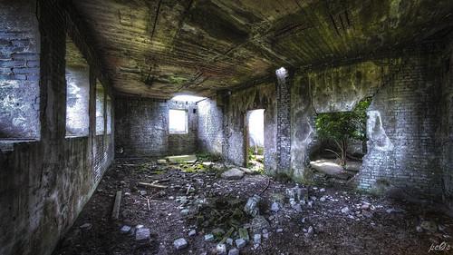 Abandoned WW2 Barracks