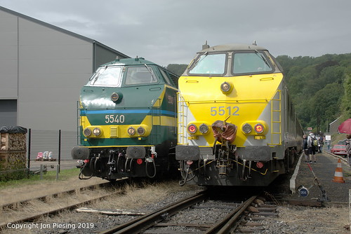 5540 and 5512 at Spontin