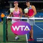 Andreja Klepac of Slovenia & Lucie Hradecka