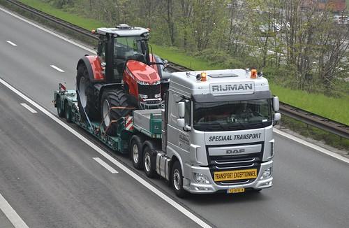 Nl-Rijman Special Transport >De Haan Transport< Daf Xf 106 6x2