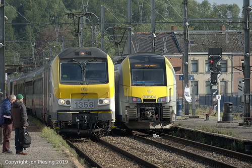 1358 and 08504 at Ciney