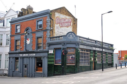 The Union Tavern. Woodfield Road. West London. UK