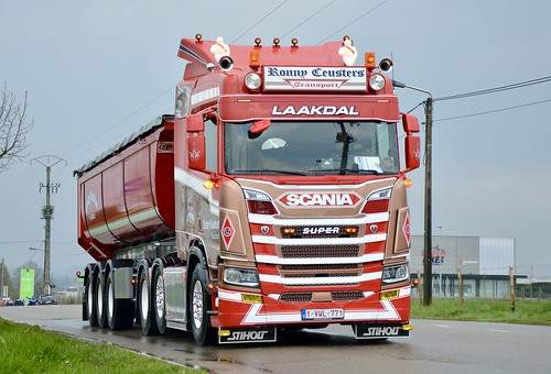 B-Ronny Ceusters Transport-Scania NextGen 6x2 [Explore]
