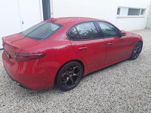 Remapped Rosso Alfa Giulia Massimo