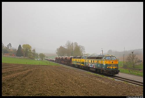 TUC Rail 5540, Tubize 12-04-2018