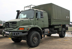 Military vehicles without armor