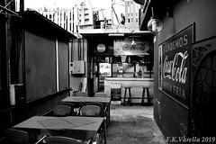 Ensaio: Mercado del Puerto em preto-e-branco