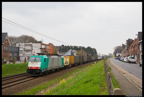 Crossrail 186 210, Wetteren 13-04-2018