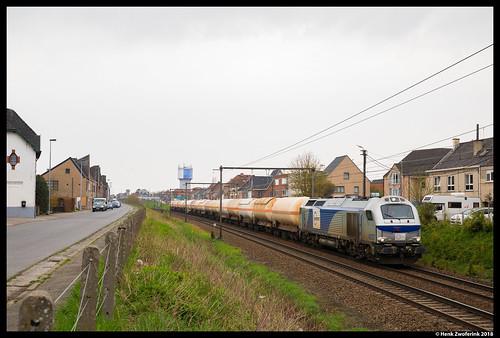Europorte 4007, Wetteren 13-04-2018