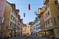 The streets of Bremgarten