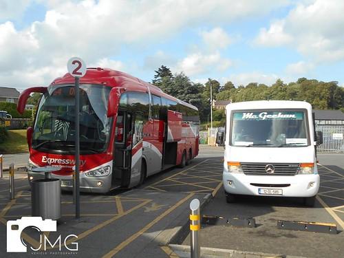 Bus Eireann SE 30 & Mercedes Benz Vario 0 816 V29
