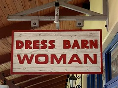 Dress Barn Woman Outlet Store Sign Florida Keys Outlet Marketplace