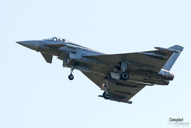 Photo:Eurofighter Typhoon C.16-21 By Dawlad Ast