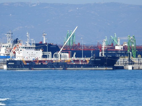 BUNKER BREEZE Tanker - Flag: Spain - Algeciras Port - Spain