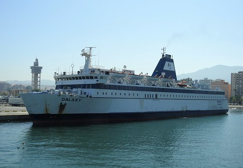 GALAXY Ro-Ro/Passenger Ship  Flag: Cyprus - Algeciras Port - Spain