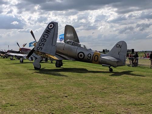 G-INVN Hawker Sea Fury T.20