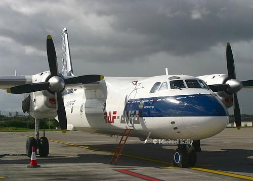 RAF Avia                                          Antonov AN26                                            YL-RAD
