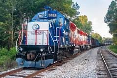 Grenada Railroad GRYR 3833 (GP38-2) Batesville, Mississippi
