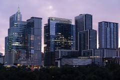 Downtown Austin Buildings at Sunrise