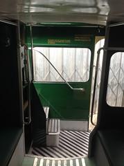Open rear platform.