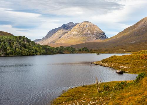Loch Clair and Liathach mountain