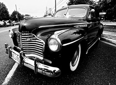 WHEELS ON THE DANFORTH  in BLACK and WHITE AUGUST 17 2019