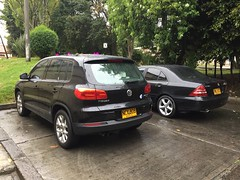LC9X (2T) Deep Black Pearl 2012 VW Tiguan 5N Trend&Fun 2.0TSi 4Motion  197U Obsidian Black 2006 Mercedes-Benz C180 Kompressor Sport W203
