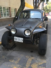 VW Beetle into Dune Buggy