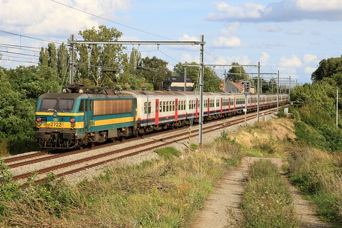 NMBS 2713 M4 2722 Gingelom 19-08-2019