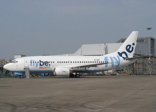 FlyBe                                    Boeing 737                               SX-BBT
