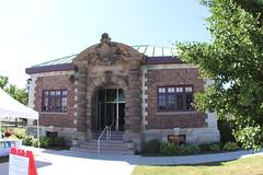 Belle Isle Aquarium building