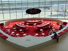 Sunken Lounge, TWA Flight Center, John F. Kennedy International Airport, Jamaica, Queens, New York City, NY