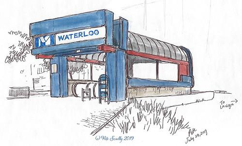 Charleroi Waterloo Metro Station
