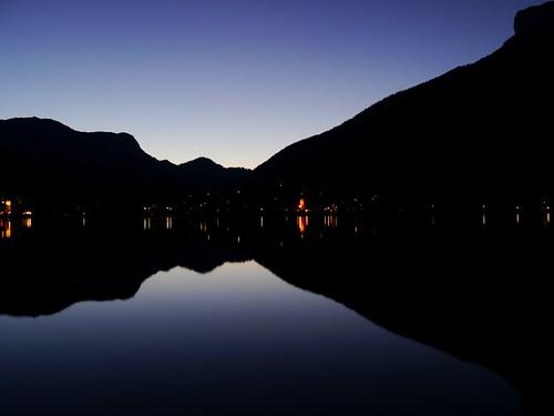 Altaussee am Abend / Altaussee at Night