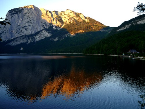 Sonnenuntergang am Altausseer See / Sunset at Lake Altaussee