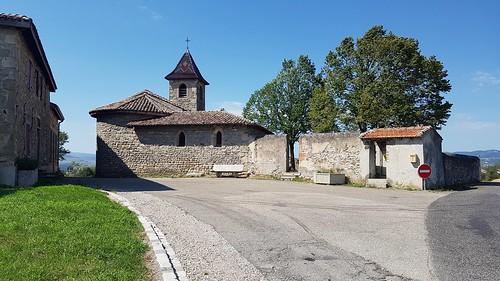 Monts du Lyonnais - Vtt - Chapelle de Saint-Martin de Cornas