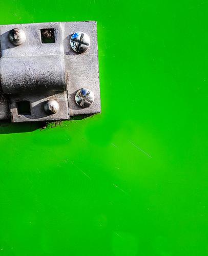 green lock
