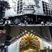 銅鑼灣記利佐治街與百德新街交界1978年