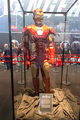 Marvel Avengers Iron Man costume, exhibited at the German games fair Gamescom