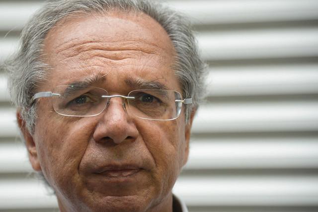 O ministro Paulo Guedes não foi denunciado nem ouvido em todo o processo - Créditos: Fernando Frasão | Agência Brasil