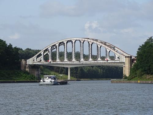 Gellik Belgium,  Railroad Bridge