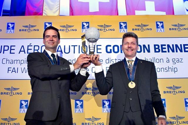 59th Coupe Aéronautique Gordon Bennett - Prize Giving - 4 September 2015