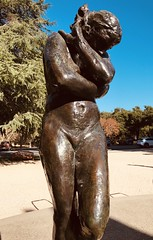 Image by Σταύρος (lifes__too_short__to__drink__cheap__wine) and image name #RodinSculptureGarden #StanfordUniversity photo  about Eve